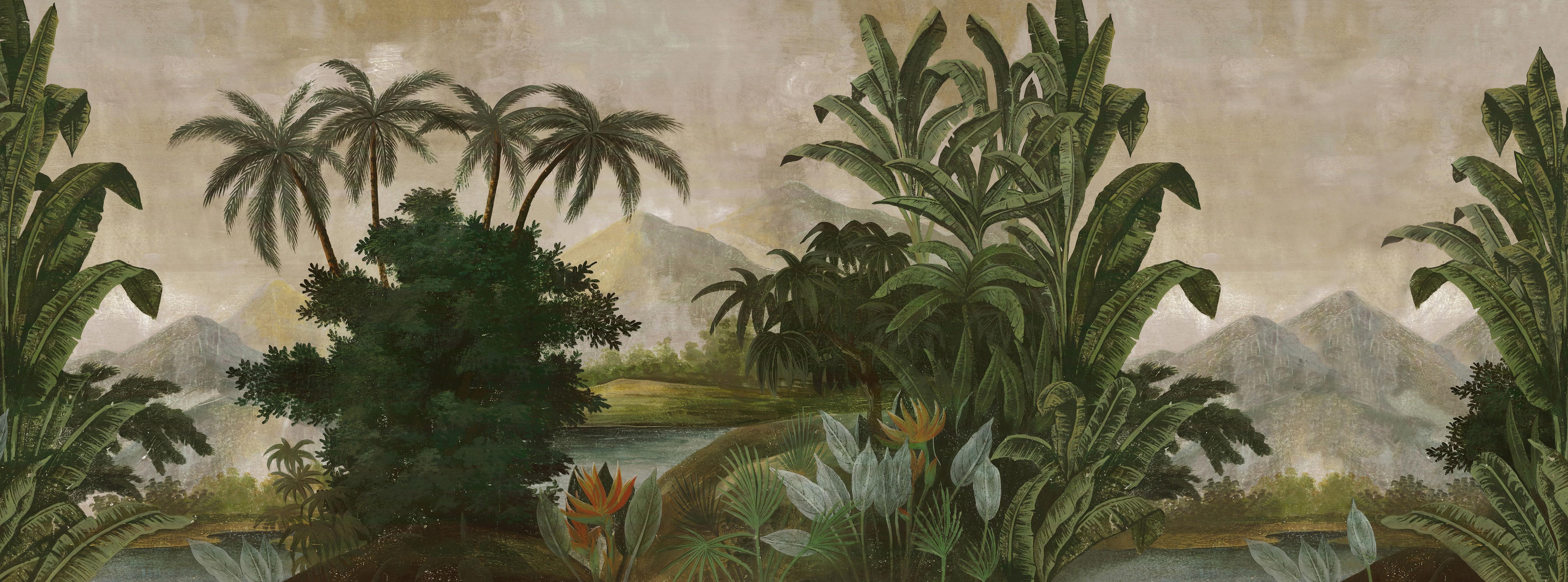 Papier Peint Panoramique Ananbô Tana Couleur