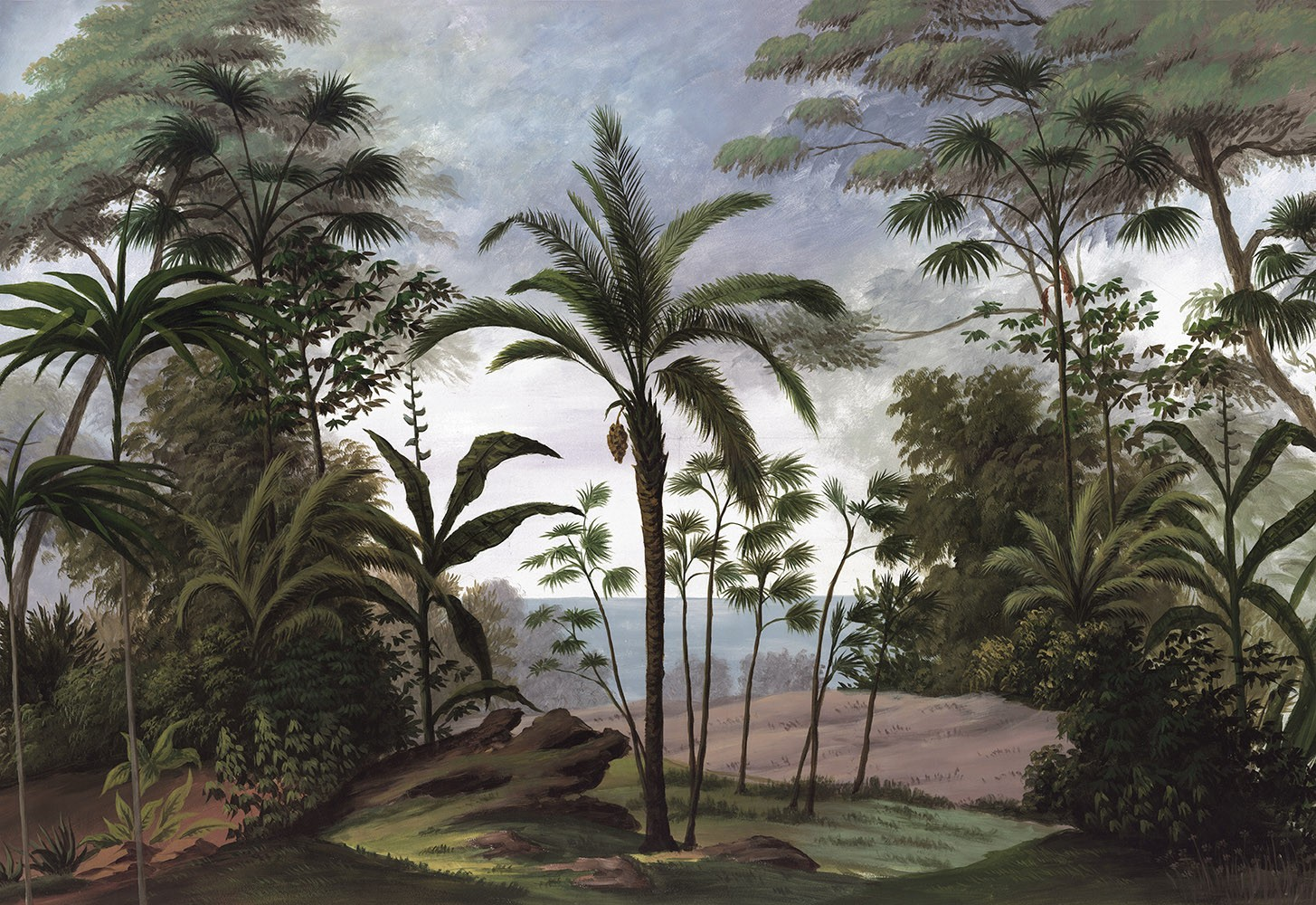Papier Peint Panoramique Paysage papier peint panoramique bali couleur