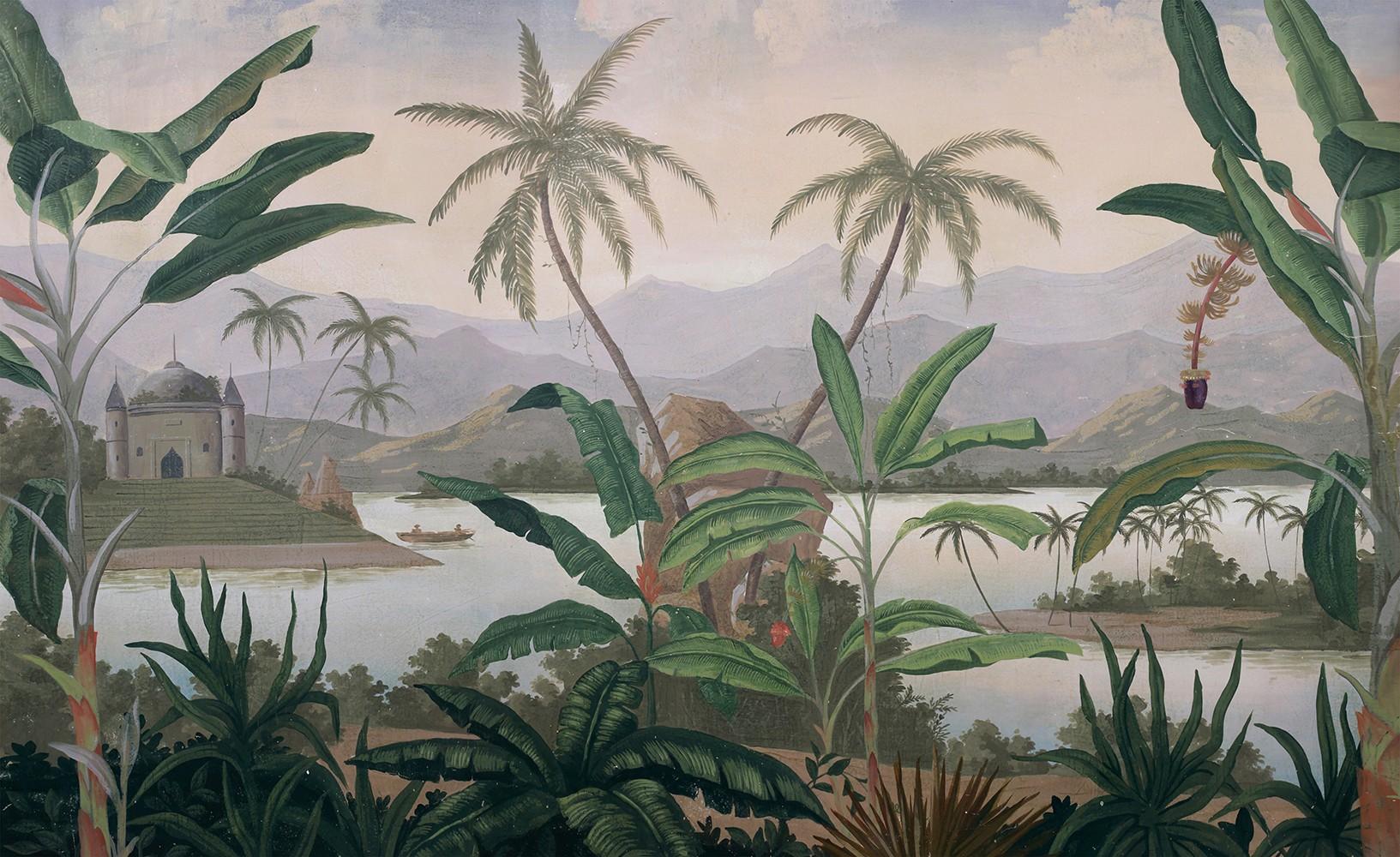 Papier Peint Panoramique Paysage papier peint panoramique mandalay couleur